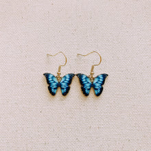 Load image into Gallery viewer, Mariposa Earrings in Blue