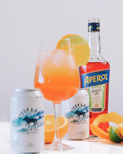 Stock & Row Aperol Spritz