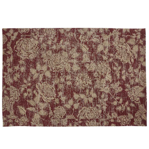 Rug Rustic Red