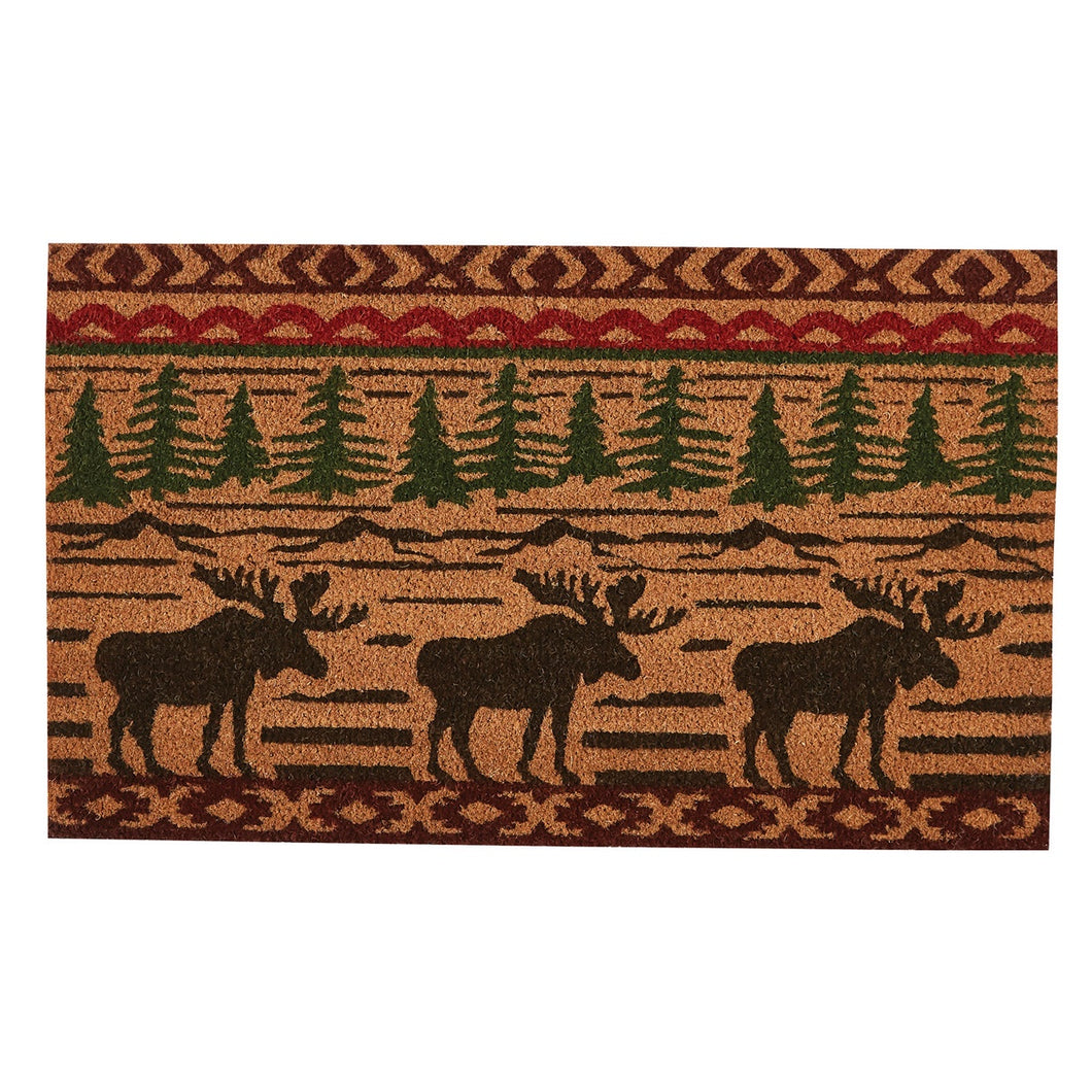 Door Mat Moose