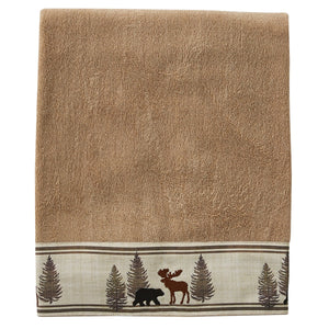 Towel Bath Black Forest