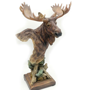 "Sculpture ""Heavy Weight"" – Moose"