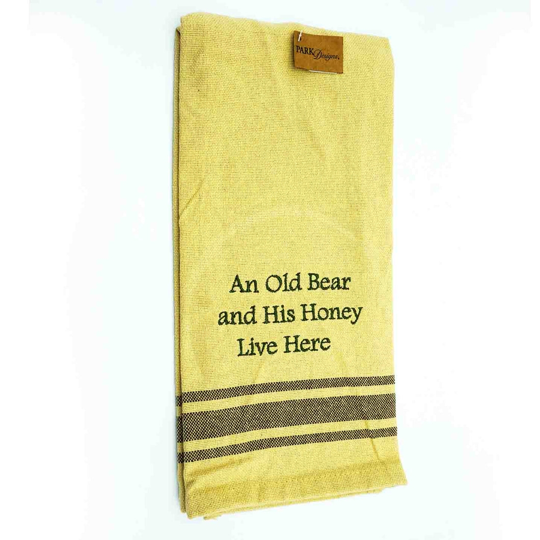 Dish Towel-yellow,