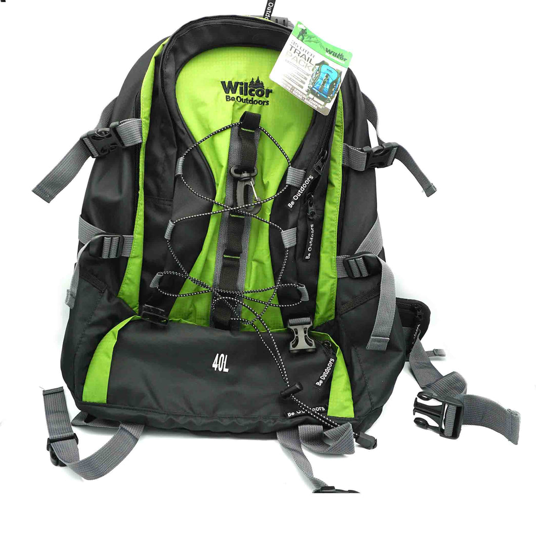 Backpack-35 Liter Trail Pack, various colors (blue, green)