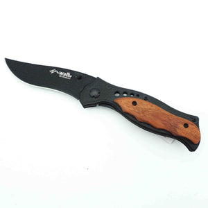 "Knife 4.5"" Rosewood/Black"