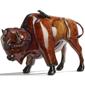 "Sculpture ""Simpaticos"" – Bison"