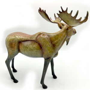 "Sculpture ""August"" – Large Moose"