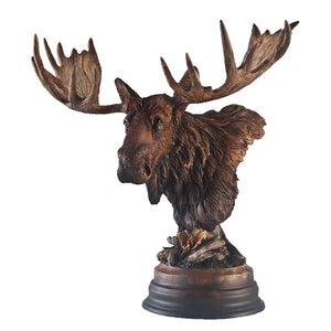 "Sculpture ""Twig Eater"" – Moose"