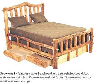 Aspen Heirloom Bedroom Collection- Snowload I Series