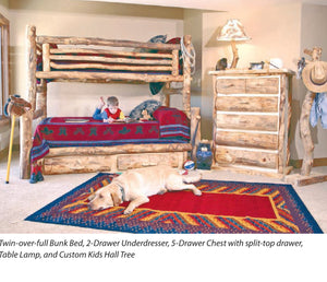 Aspen Heirloom Collection Bunk Beds
