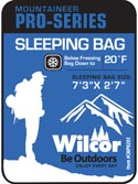 Load image into Gallery viewer, Bag Sleeping Mummy 20 Degree Mountaineer Pro-Series