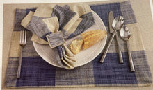 Load image into Gallery viewer, Chesney Blue Placemat and Napkins