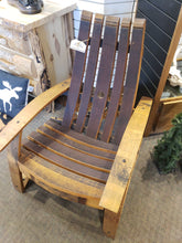 Load image into Gallery viewer, Chair- Wine Barrel Stave Adirondack Chair