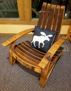 Chair- Wine Barrel Stave Adirondack Chair