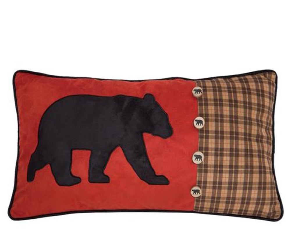 Bear & Buttons Pillow