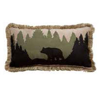 Bear Scene Pillow