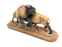"Load image into Gallery viewer, Sculpture ""Test of Strength"" -Bison"