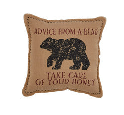 Pillow Advice from a Bear