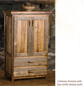 Wyoming Collection 2-door Armoire