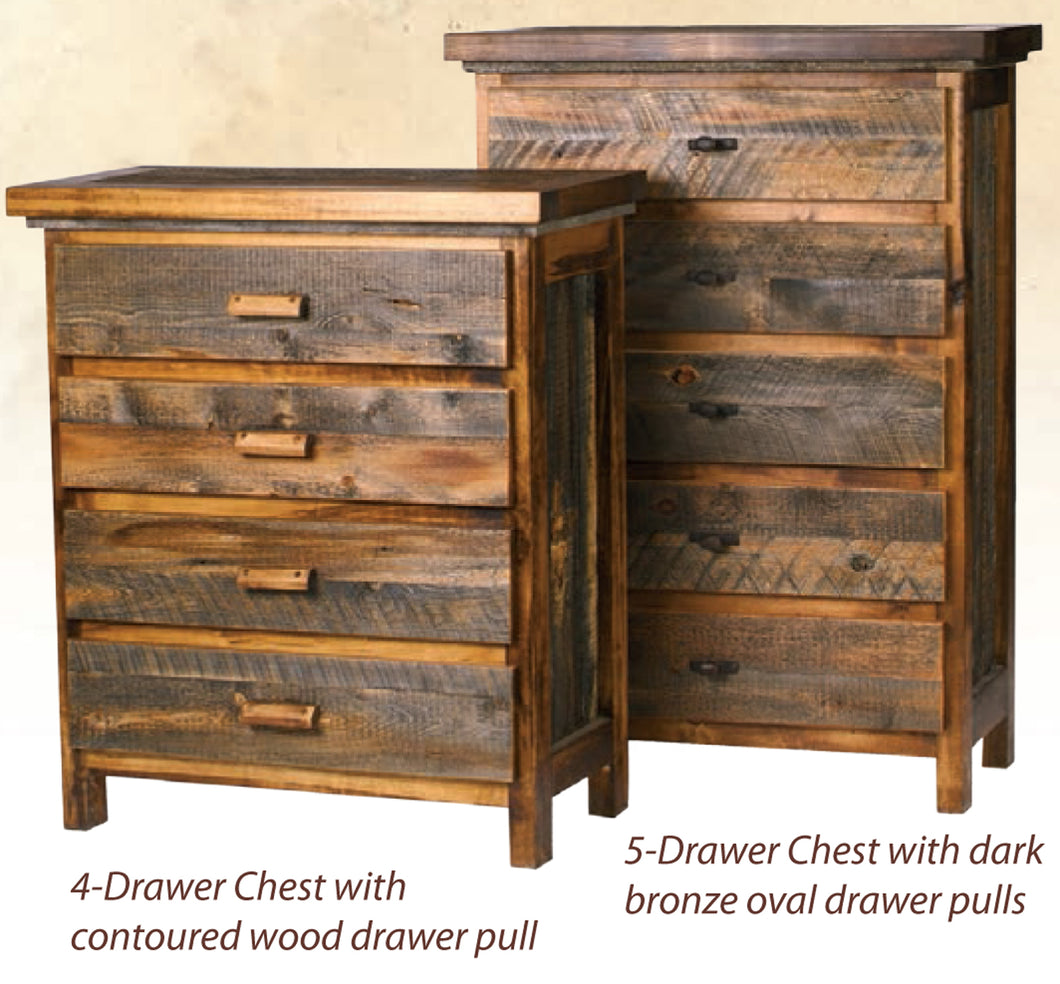 Wyoming Bedroom Collection-Chests and Dressers (5 variants)