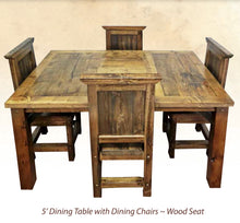 Load image into Gallery viewer, Wyoming Dining Collection- Dining Table (4 variants)
