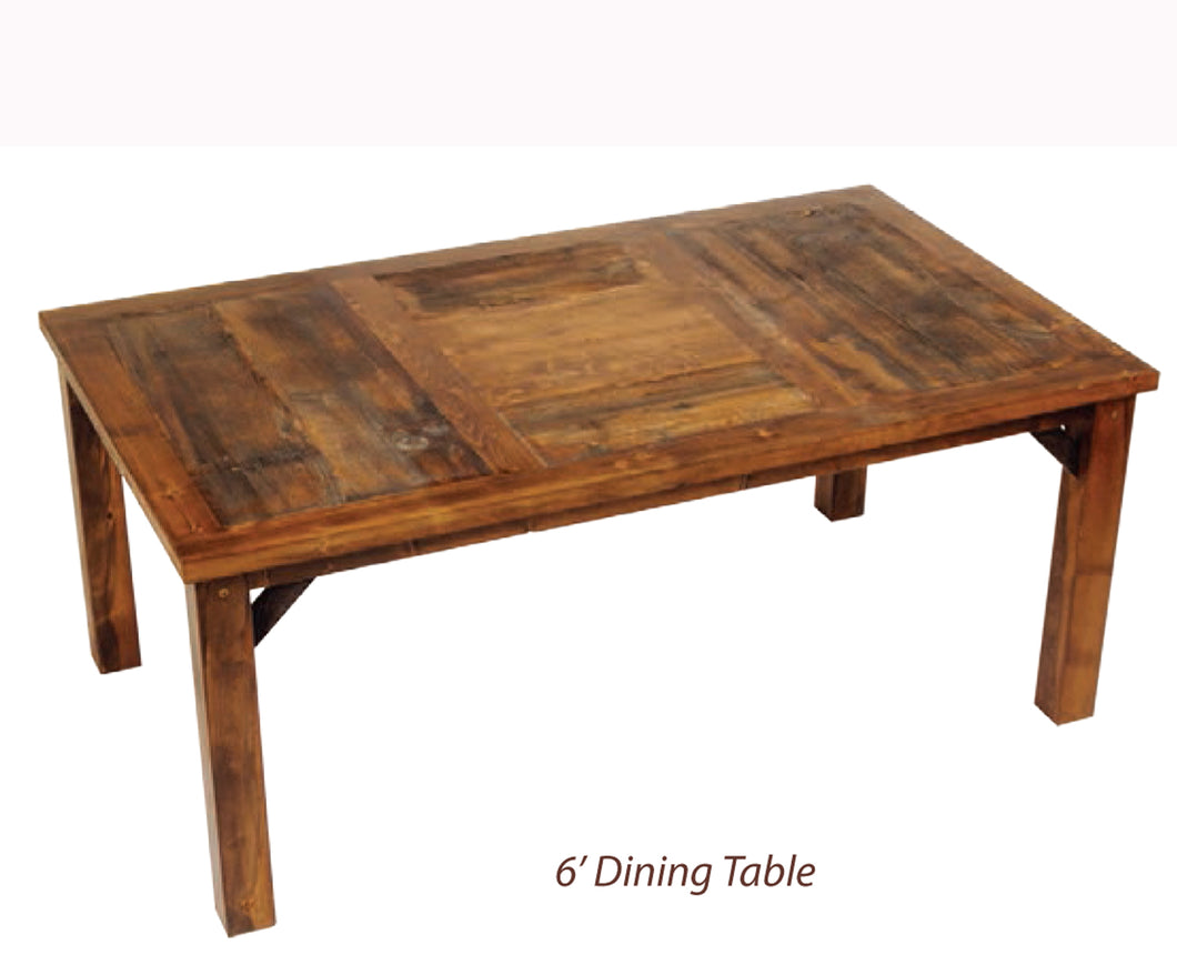Wyoming Dining Collection- Dining Table (4 variants)