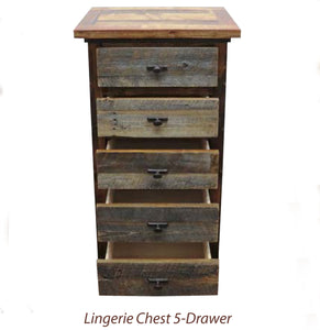Wyoming Collection- Lingerie Chest  4 and 5-Drawer