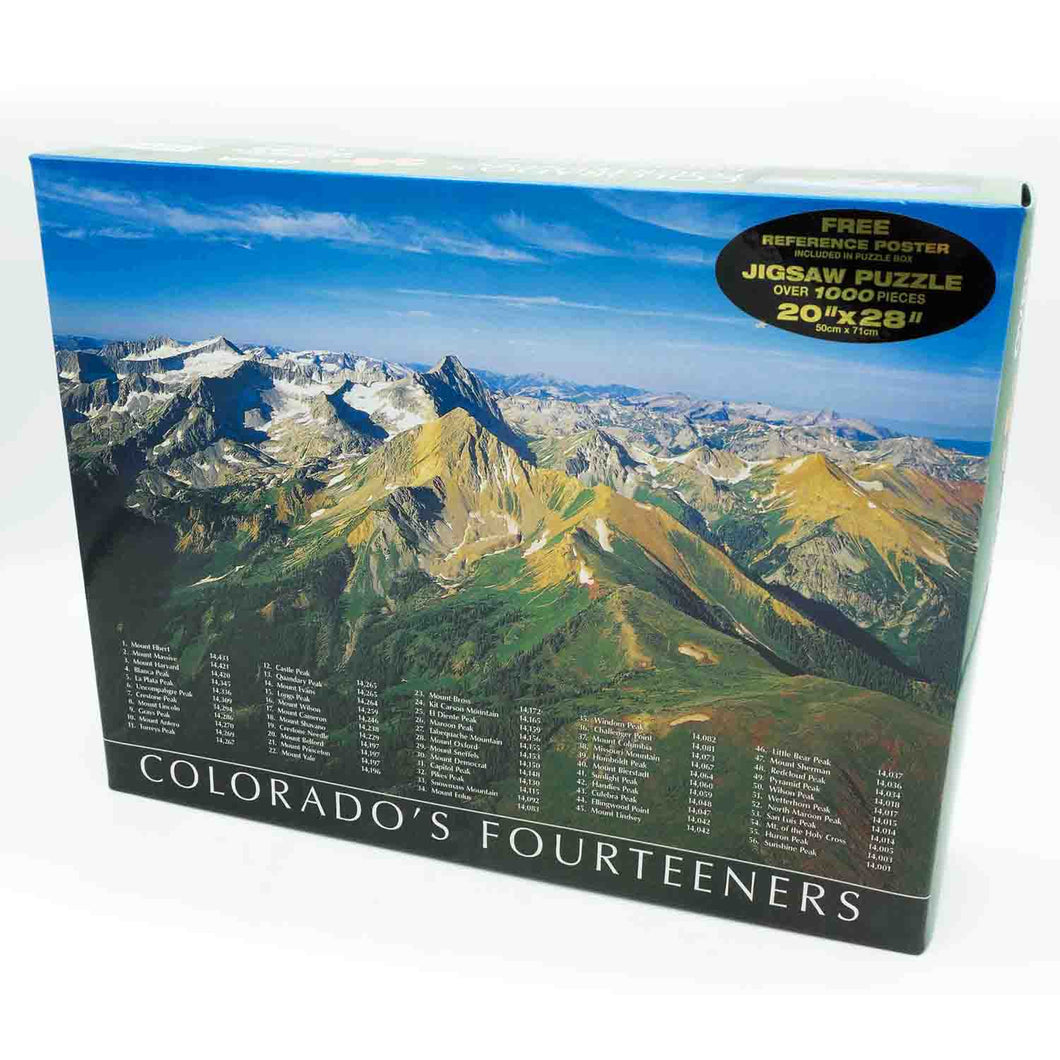PUZZLE COLORADO FOURTEENERS 20x28
