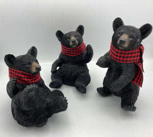 One, two, three adorable bears!