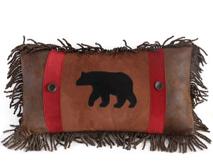 Rambling Bear Pillow