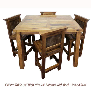 Wyoming Dining Collection- Bistro Tables