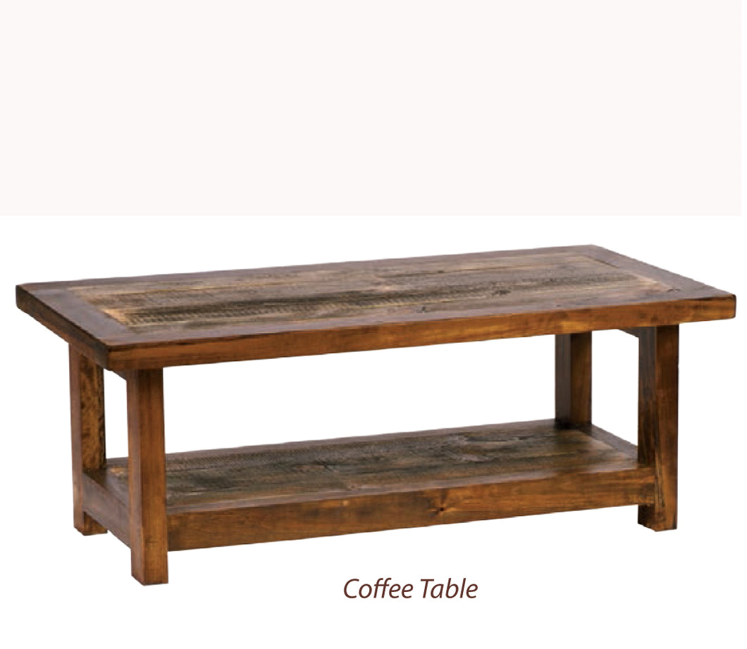 Wyoming Living Room Collection- Coffee Tables (3 variants)