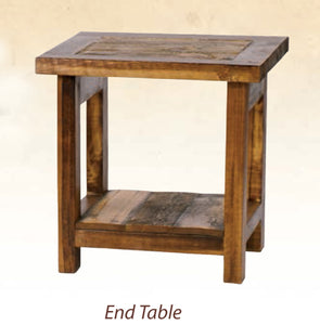 Wyoming Living Room Collection-End Tables (4 variants)