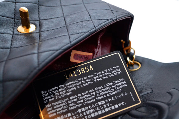 Chanel serial sticker authentication guide - How to date your vintage Chanel bag