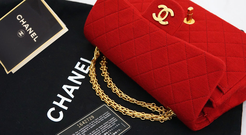 chanel jersey bag
