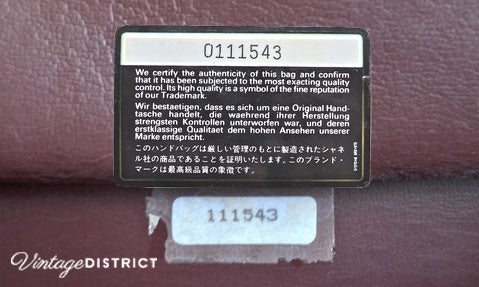 bf936fd6e81102 Chanel 2.55 handbag serial number authentication guide - Vintage ...