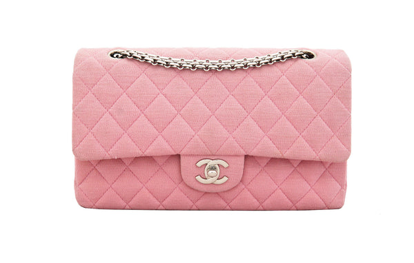 Chanel 2.55 classic jersey bag