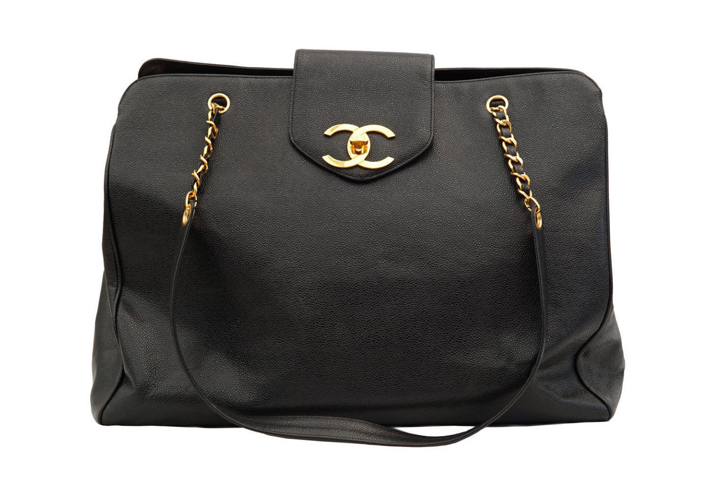 19a3964ec243 CHANEL VINTAGE OVERNIGHTER JUMBO XL BAG - Vintage District