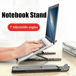 Adjustable Foldable Laptop Stand For Notebook Macbook Pro Air iPad Pro DELL HP
