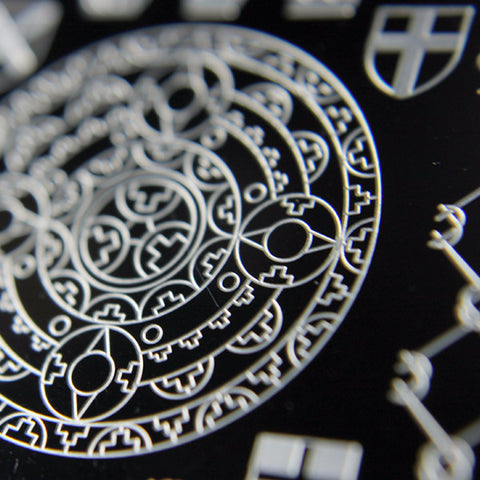 Kings & Castles Stamping Plate 01 - XL