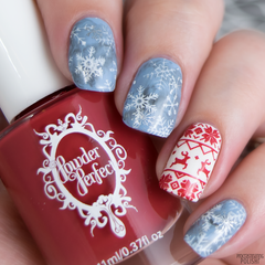 Christmas Stamping Plate 01 - XL