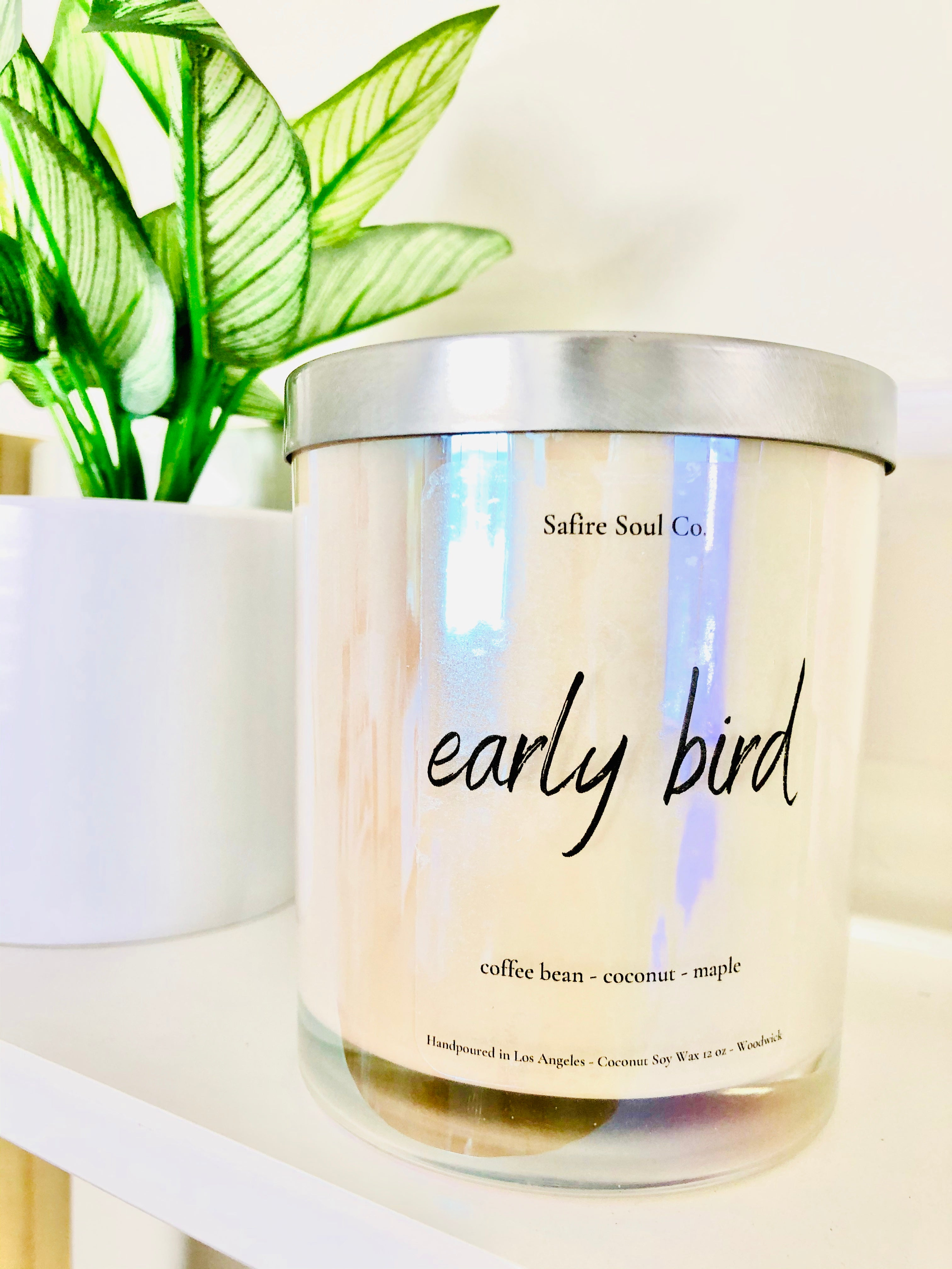 Early Bird Candle