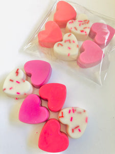 Mixed Heart Wax Melts