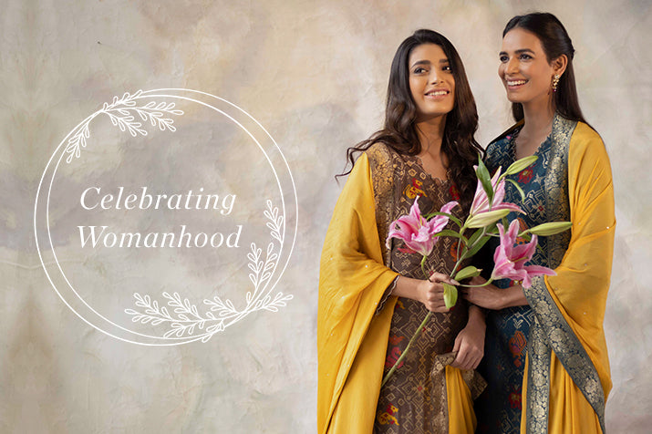 Wear Traditional Suit Sets this Women's Day by Basanti Kapde aur Koffee