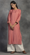 Zari Embroidered Kurta Set