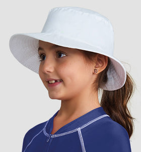 California Kids Fpu50+ Hat White Uv