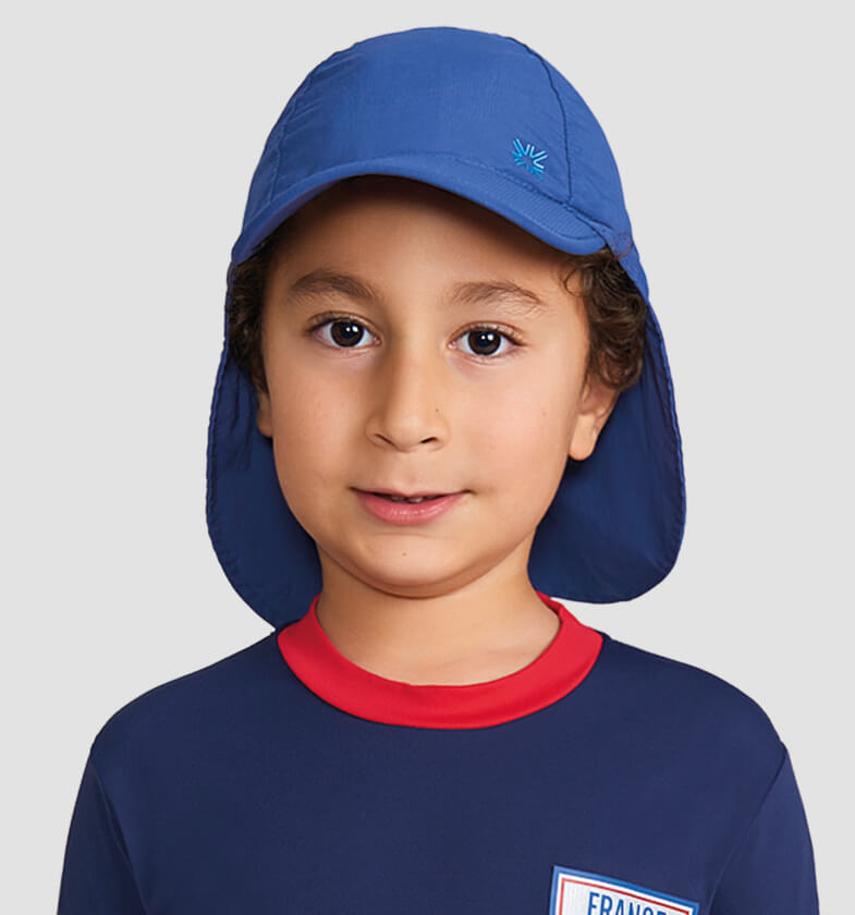 Legionnaire Kids Fpu50+ Cap Dark Blue Uv