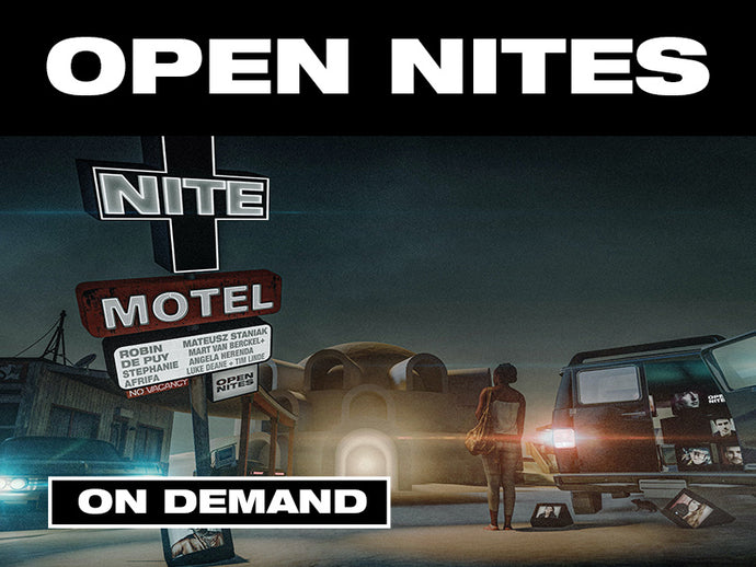 OPEN NITES - ON DEMAND FROM 01/03/2021 - 31/03/21