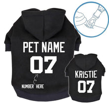 Load image into Gallery viewer, PERSONALIZED DOG HOODIE