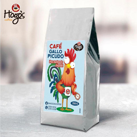 Hogo's Coffee Gallo Picudo Dark Roast Ground Coffee 350g